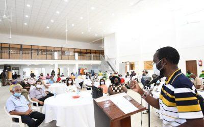 Governor Nyong'o Meets DKFF